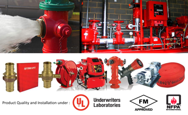 Fire Hydrant & Sprinkler System